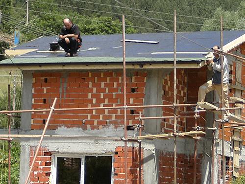 медитация на покрива :)