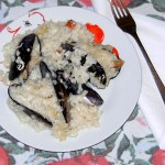 порцийка миди с ориз