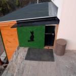 Къщичка за котки без врата и обзавеждане
