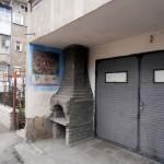 градски стенописи в грузински стил