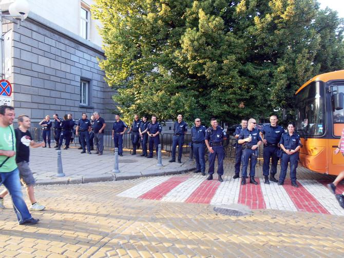 полицейско присъствие
